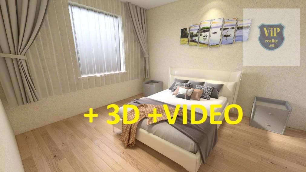 Rezervovaný- Luxusný 3 - izbový byt - 71 m2 - tehlový, prerobený, zariadený , perfektná lokalita - Banská Bystrica - Sídlisko